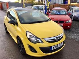 VAUXHALL CORSA 1.2i 16V Limited Edition 3dr - Good Looking Car ! Low Tax - Ideal First Car 2013