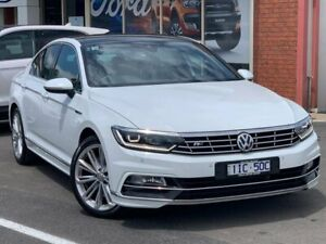 2016 Volkswagen Passat B8 206TSI R-Line White Sports Automatic Dual Clutch Colac West Colac-Otway Area Preview