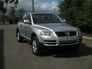 2004 Volkswagen Touareg 7L V6 Luxury Silver 6 Speed Tiptronic Wagon Hoppers Crossing Wyndham Area Preview