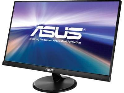 """Asus VC239H Slim Bezel Black 23"""" 5ms (GTG) IPS Widescreen LED Backlight LCD Moni"""