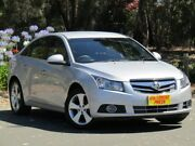 2010 Holden Cruze JG CDX Silver 6 Speed Sports Automatic Sedan Melrose Park Mitcham Area Preview
