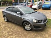 2014 Holden Barina TM MY15 CD Grey 6 Speed Automatic Sedan Horsley Wollongong Area Preview