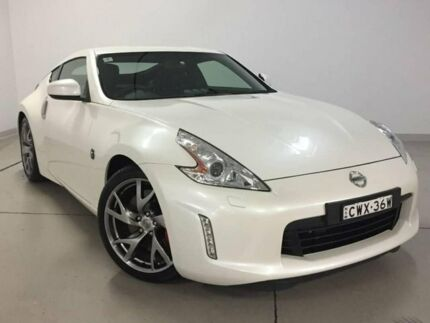 2014 Nissan 370Z Z34 MY15 White 7 Speed Sports Automatic Coupe Chatswood Willoughby Area Preview