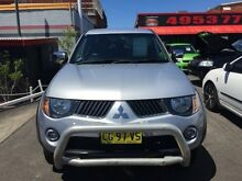 2006 Mitsubishi Triton ML GLX-R (4x4) Silver 5 Speed Manual 4x4 Dual Cab Utility Cardiff Lake Macquarie Area Preview
