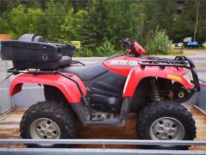 2007 ARCTIC CAT H1 650 GOOD CONDITION WITH 2 UP SEAT BOX