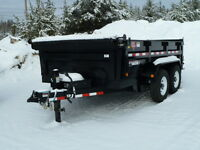 (Demo) 2015 P.J. 7 Ton Dump Trailer
