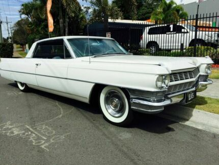1964 Cadillac Coupe Deville White Automatic Coupe