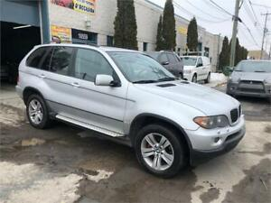 2006 BMW X5 3.0i/AUT/AC/CUIR/TOIT PANO/MAGS/GR-ELECT!!