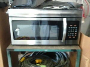 High Pointe 2 Cu Ft Over The Range Microwave