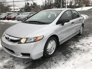 2010 Honda Civic Sdn DX-G NEW MVI, NEW WINTER TIRES, MINT!!!!