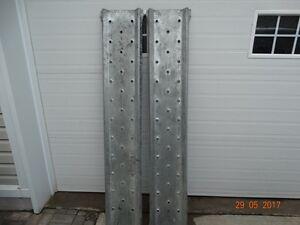 Rampes galvanisé pour vtt ou autre larg 12 po long 70 po $65.00