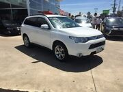 2013 Mitsubishi Outlander ZJ MY14 LS 4WD White 6 Speed Sports Automatic Wagon Hoppers Crossing Wyndham Area Preview