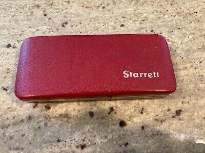 Empty Starrett Micrometer Clamshell Box Case