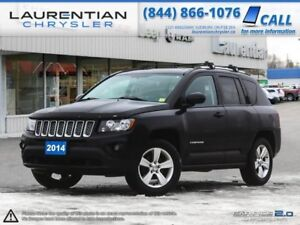 2014 Jeep Compass Sport-BLUETOOTH, LEATHER, 4X4!!!