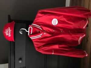 Collectable Budweiser Jacket and Hat