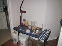 Wine making equipment - package deal
