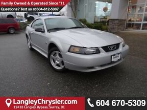 2004 Ford Mustang *ACCIDENT FREE*ONE OWNER*LOCAL BC CAR*