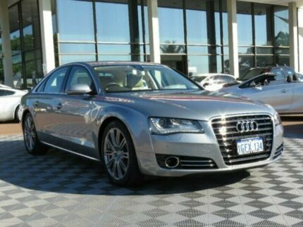 2012 Audi A8 4H MY12 Tiptronic Quattro Grey 8 Speed Sports Automatic Sedan Alfred Cove Melville Area Preview