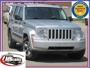 2008 Jeep Liberty Sport 4WD Trail Rated LOW KMs