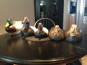 Secection of Hand Carved Decoys