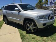 2011 Jeep Grand Cherokee WK MY2011 Limited Silver 5 Speed Sports Automatic Wagon Pearsall Wanneroo Area Preview