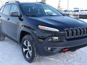 2016 Jeep Cherokee TRAILHAWK * 4X4 * LEATHER * PANORAMIC ROOF *