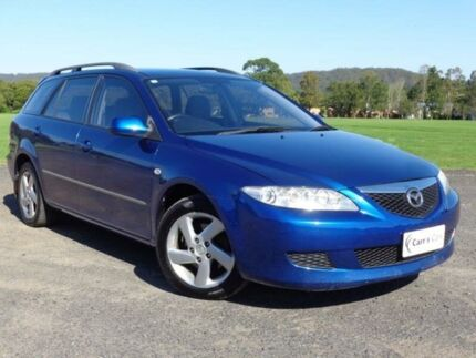 2003 Mazda 6 GY1031 Classic Blue 4 Speed Automatic Wagon