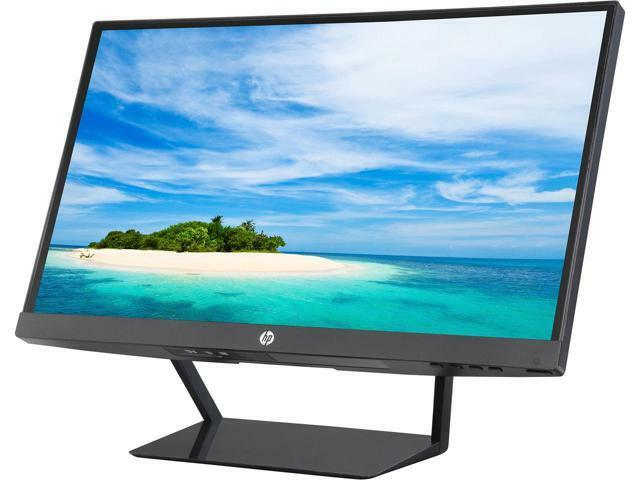 """HP 22CWA 21.5"""" 7ms (GTG) HDMI Widescreen LED Backlight LCD Monitor IPS, Certifie"""