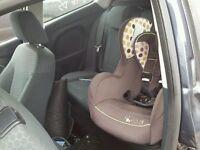 2010 FORD FIESTA ZETEC S INTERIOR SEATS DOORCARDS