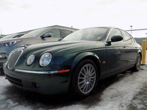 2006 Jaguar S-Type LEATHER/SUNROOF/BLUETOOTH/HEATED SEATS