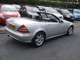 Mercedes-Benz SLK 2.3 SLK230 Kompressor 2dr, 2003 model, 104K, Full MOT, Clean in & out