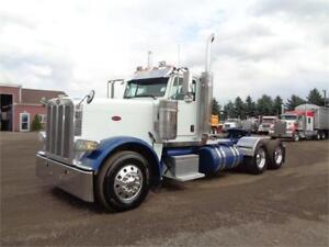 2012 PETERBILT 388 DAYCAB, FRESH REBULT CUMMINS ISX ENGINE.