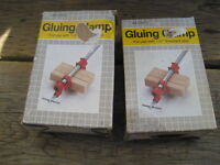 gluing clamp for use with 1/2 inch threaded pipe. New , 2 units