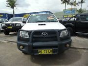 2011 Toyota Hilux KUN26R MY11 Upgrade SR (4x4) White 5 Speed Manual Dual Cab Pick-up Homebush West Strathfield Area Preview