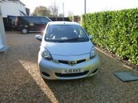 2011 Toyota Aygo ICE 1L Manual