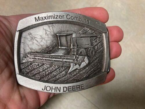 Vintage JOHN DEERE MAXIMIZER COMBINE BELT BUCKLE