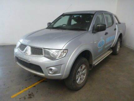 2012 MITSUBISHI TRITON GL-R CREW CAB 4X4 TURBO DIESEL AUTOMATIC Rochedale South Brisbane South East Preview