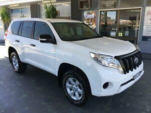 2013 Toyota Landcruiser Prado KDJ150R GX White 5 Speed Automatic Wagon Hamilton Newcastle Area Preview