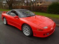 1993 K Mitsubishi GTO. Low Mileage. Long M.O.T. A Stunning Looking Car. Not To Be Missed!