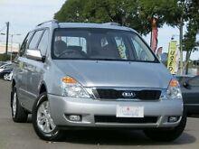 2013 Kia Grand Carnival VQ MY13 SI Silver 6 Speed Automatic Wagon Condell Park Bankstown Area Preview
