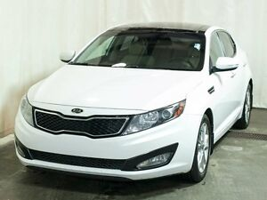 2012 Kia Optima EX Turbo Sedan w/ Leather, Dual Sunroof, Paddle