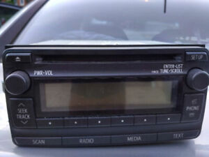 TOYOTA COROLLA 2013 CD Audio unit (Original)
