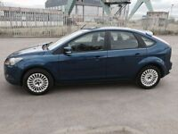 FORD FOCUS 1.8 TITANIUM 5d 125 BHP APPLY NOW FOR INSTANT APPR (blue) 2009