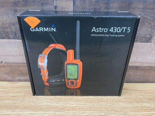 Brand new Garmin ASTRO 430 / T 5 Bundle 010-01635-00 GPS DOG TRACKING BUNDLE