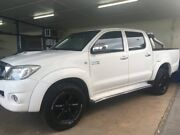2011 Toyota Hilux KUN26R MY11 Upgrade SR5 (4x4) White 4 Speed Automatic Sylvania Sutherland Area Preview