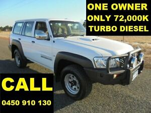 2012 Nissan Patrol GU Viii DX (4x4) White 5 Speed Manual Wagon Ellenbrook Swan Area Preview