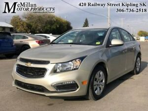 2015 Chevrolet Cruze LT w/1LT  - Certified - 16 inch Wheels