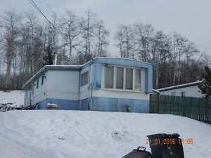 MOBILE WITH LAND FOR SALE! WITH CONSIDER A RENT-TO-OWN! CHETWYND