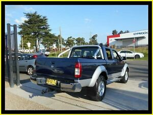 2010 Nissan Navara D22 MY08 ST-R (4x4) Blue 5 Speed Manual Dual Cab Pick-up Penrith Penrith Area Preview