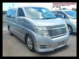 2004 Nissan Elgrand E51 H/STAR Silver Automatic Wagon Huntingdale Monash Area Preview